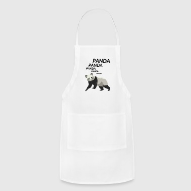 Panda Panda Panda - Adjustable Apron