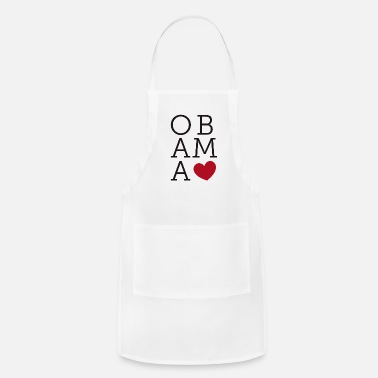 Obama Obama Love - Adjustable Apron