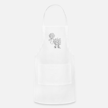 Cartoon Hippie Sheep - Cartoon - Gift - Funny  - Adjustable Apron