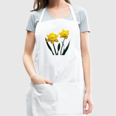 Yellow Daffodil Pair - Adjustable Apron
