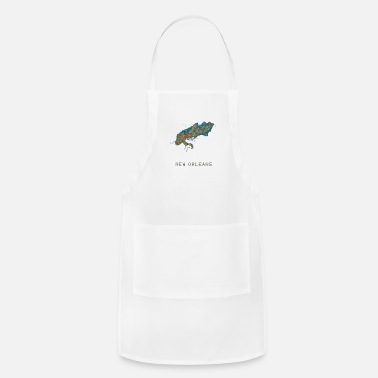 New Orleans new orleans water - Adjustable Apron