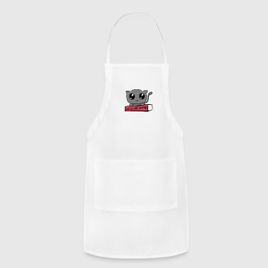 Cute Kitty with Bad Intentions - Adjustable Apron