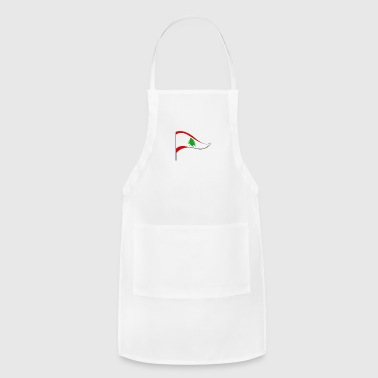 Beirut Lebanon Beirut Arabic Flag Banner Flags Ensigns - Adjustable Apron