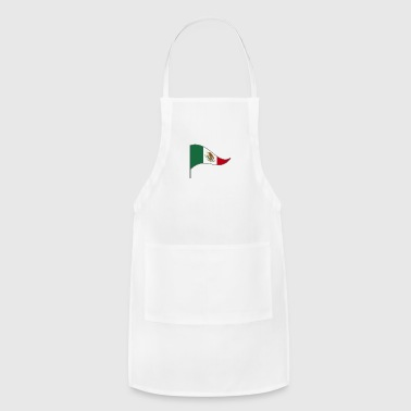 Mexico Mexico City America Latino Flags Banner - Adjustable Apron