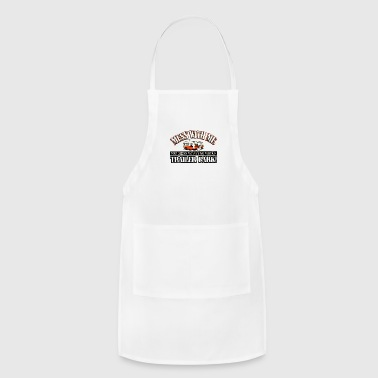 Mess Mess with me you mess with the whole - Adjustable Apron