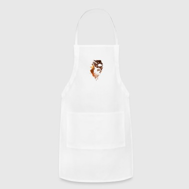 Metalheads Heavy Metal Ghoul Skull gift for Metalheads - Adjustable Apron