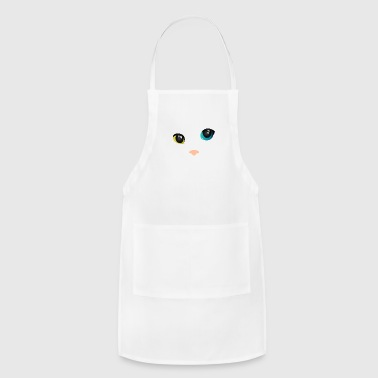Cat Face cat face - Adjustable Apron