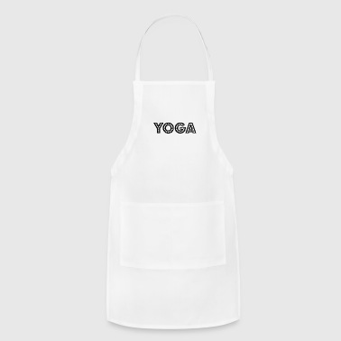 Teach yoga wording - Adjustable Apron
