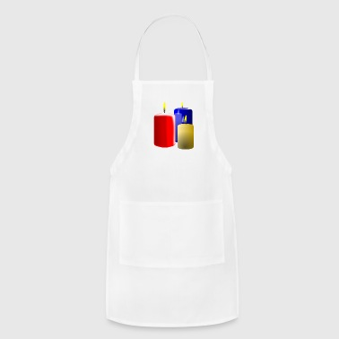 candles - Adjustable Apron