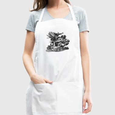 Tiger's Resting Place - Adjustable Apron