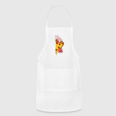 Slut pizza slut - Adjustable Apron