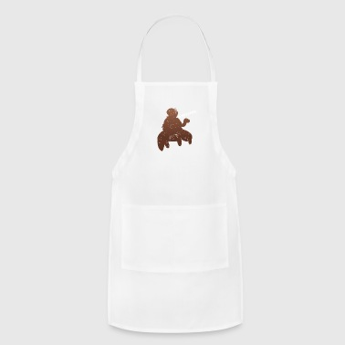 Funny Running - Slow Snail Turtle - Adjustable Apron