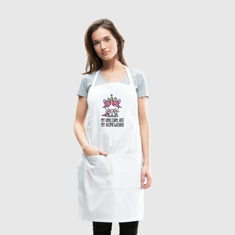 My unicorn ate my homework - Adjustable Apron