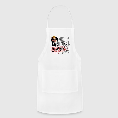 Female Architect - Zombie by night - Adjustable Apron