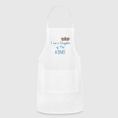 Cool Christian Daughter of The King Cool Christian Design - Adjustable Apron