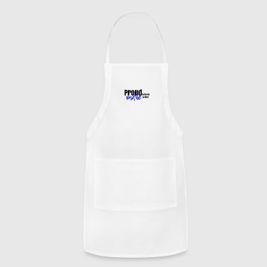 Proud to be an indie author in blue. - Adjustable Apron