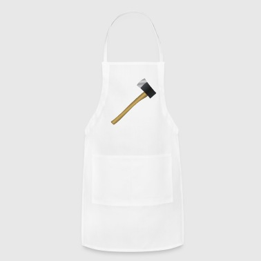 holzfaeller lumber axe axt saw forest wald wood5 - Adjustable Apron