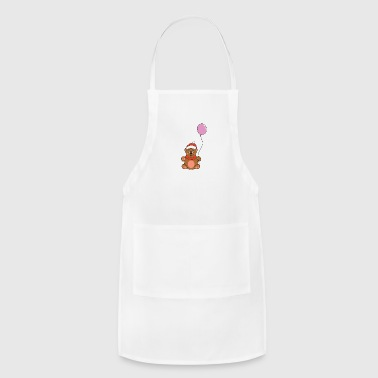 Advent Funny Cute Cool Teddy Bear Christmas Xmas - Adjustable Apron