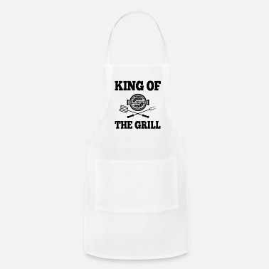 Fathers Day King Of the Grill - Apron