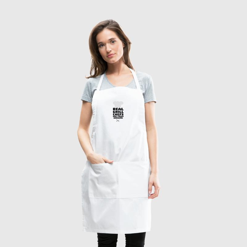 Real Grill Chefs are from Ukraine Smne6 - Adjustable Apron