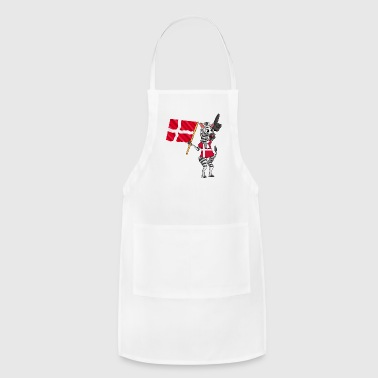A Danish Zebra - Adjustable Apron