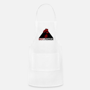 Boy Boy power guys are the biggest fist - Apron