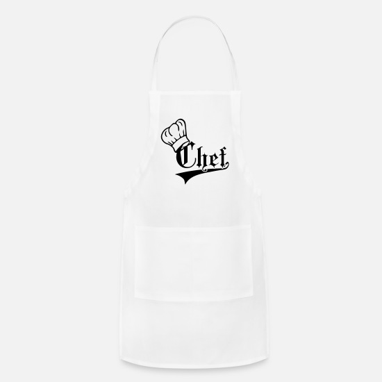 Retirement Aprons - Chef - Apron white