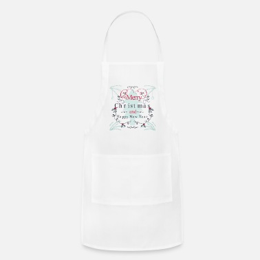 New New Year's wishes, New Year's Eve, New Year's Eve - Apron