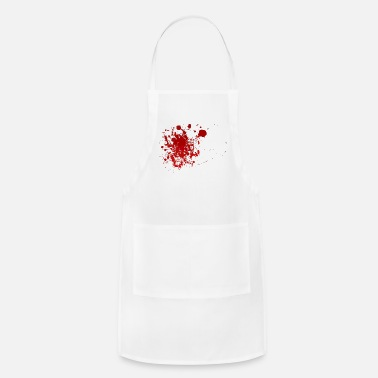 Blood Splatter Blood Splatter Halloween - Apron