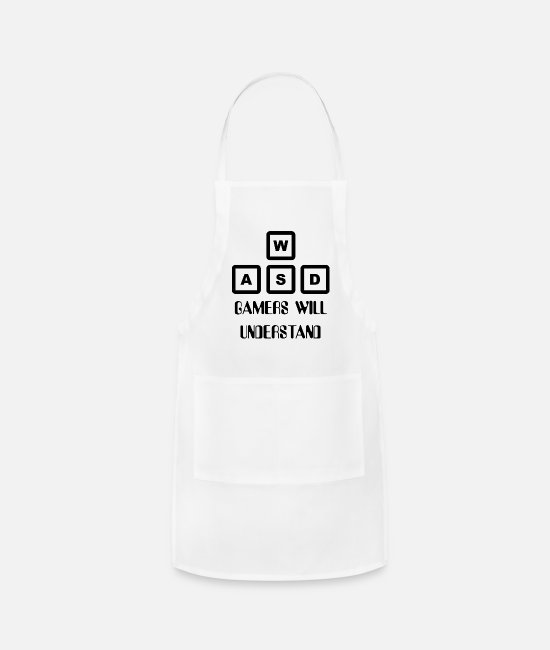Freak Aprons - Gamer - Apron white