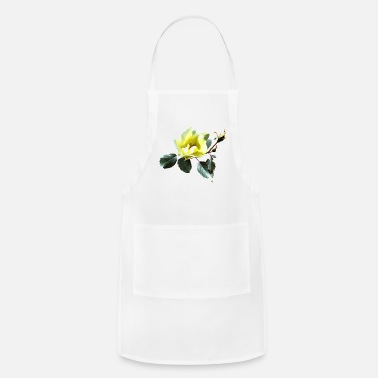 Rose Delicate Yellow Rose - Apron