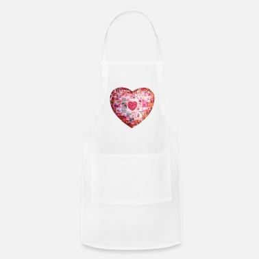 Daily Happiness affirmation heart - Apron