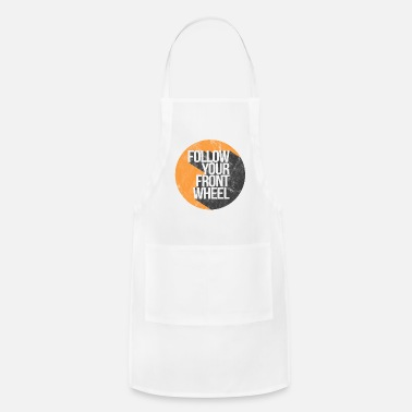 Weather Logo Weathered - Adjustable Apron