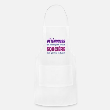 Veterinary Practitioner Veterinary Witch - Adjustable Apron