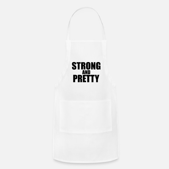 Strong Aprons - Strong and pretty - Apron white