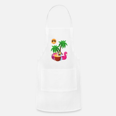 Beachparty Summer Summertime Beachparty - Apron
