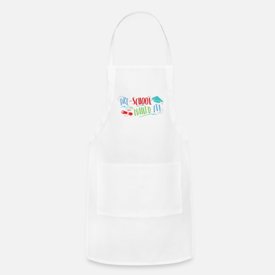 Graduation Aprons - Graduation Day Last Day Of School 2019 Preschool - Apron white