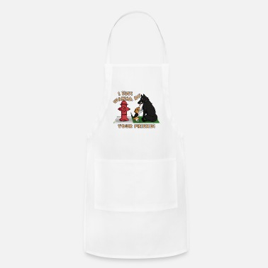 Puppy friends L - Apron