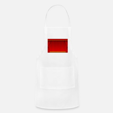Curtain Red curtain background - Apron
