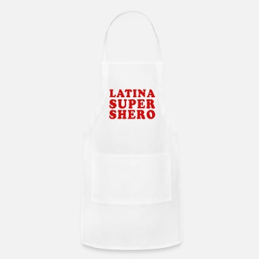 Cuban Latina Super Shero - Adjustable Apron
