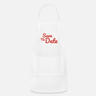 Date Of Birth Save The Date - Apron