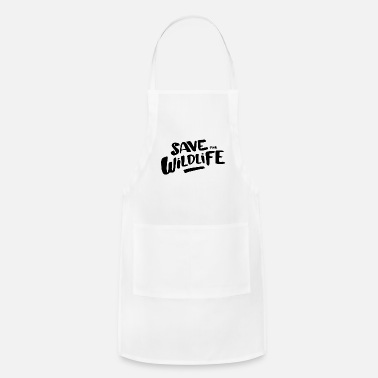 Wildlife Save the Wildlife - Adjustable Apron