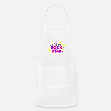 Education Culture Educational Rockstar School Education Gift - Adjustable Apron