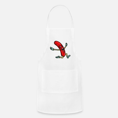 Hot Dog Hotdog Hot Dog Fast Food Stand Bosna Funny - Apron