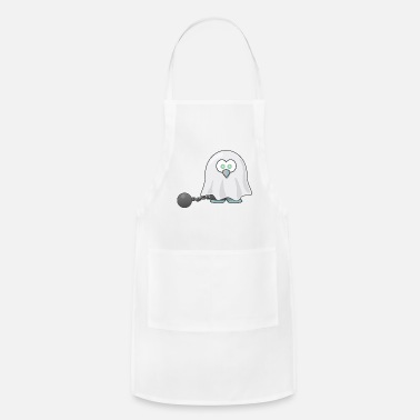 Tux tux owl prison - Adjustable Apron