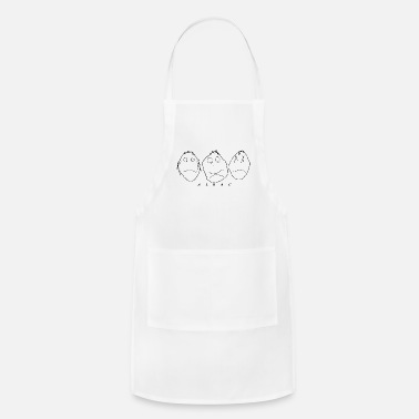 Evil NO EVIL - Adjustable Apron