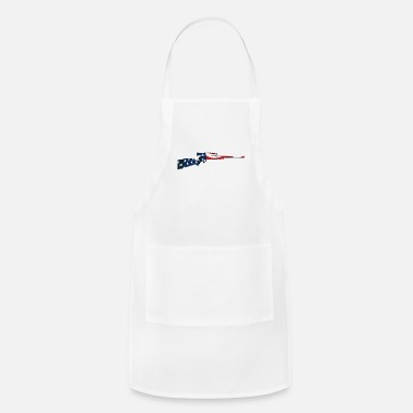 Bolt-action Rifles Patriotic Hunting Rifle with USA Flag Overlay - Apron