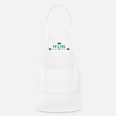 Bride And Groom bride and groom - Adjustable Apron