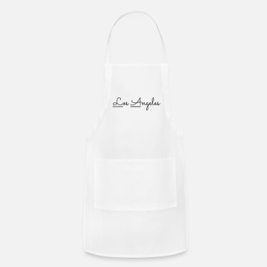 Los Angeles Los Angeles Wave Typography - Apron