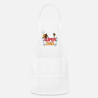 SUPER DAD Comic Book Theme for Father's Day - Apron